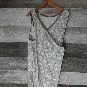 Handmade Farmer's garden Bib apron dress OSFA